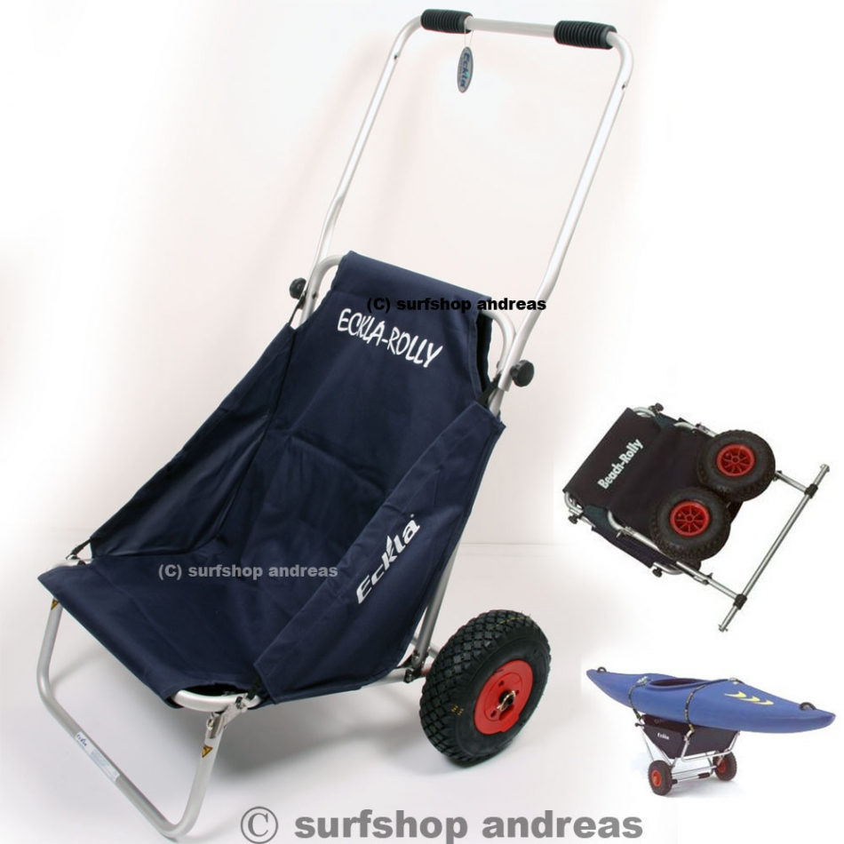 Beachrolly, Surfwagen Transport Lehne Sitz Bootswagen Kanuwagen