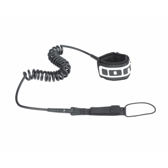 SUP Core Leash Coiled 10 Black