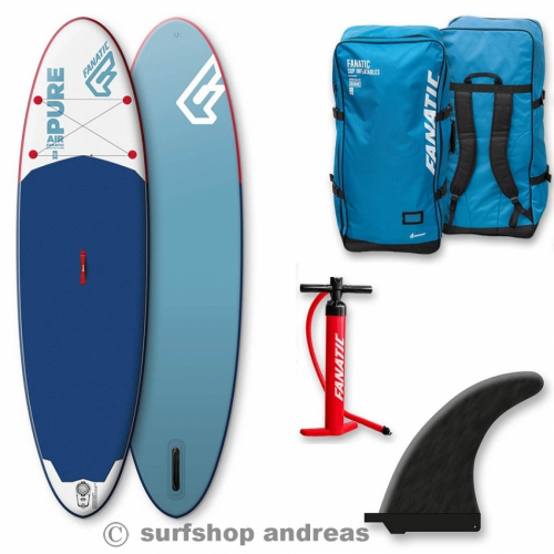 Fanatic SUP Pure Air 2017 104 INFLATABLE aufblasbar iSUP Surfboard Paddel