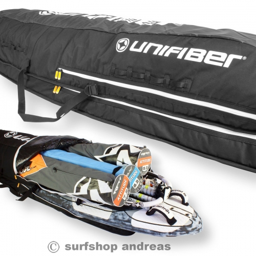 Unifiber Windsurf Boardbag Blackline Roofrack board-quiver bag 260x80cm