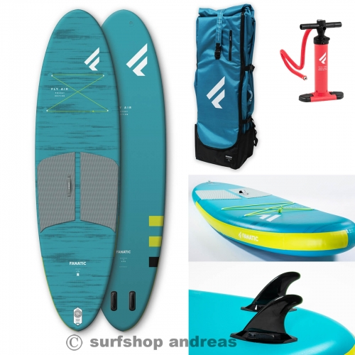 Fanatic Fly Air Pocket 104  kleinstes Packmaß SUP Board 2021