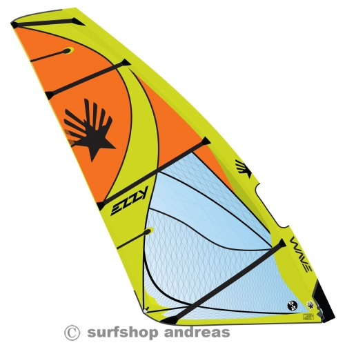 Ezzy Wave Segel 2021 3,0 Orange
